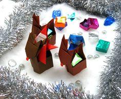 クリスマス_プレゼントを運ぶトナカイ