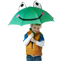 Promotional Childs Frog Umbrellas manufactured from quality, hardwearing polyester (170t) with a fun frog design that is perfect for all campaigns and companies revolving around children. This umbrella is from our value range and is ideal for shielding your children from the rain, if you require a more sturdy umbrella suitable for storms and windy conditions then we recommend our storm proof collection (please ask our sales team). A funky take on a tried and tested promotional tool that is ...