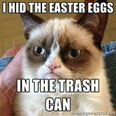 Grumpy Cat - Easter eggs