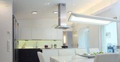 Rakentaja.fi - Rakentaminen - Remontointi - Sähköistys ja valaistus (42/13) Bathroom Lighting, Mirror, Kitchen, Furniture, Home Decor, Bathroom Light Fittings, Bathroom Vanity Lighting, Cooking, Decoration Home