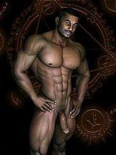 Art homoerotic fantasy