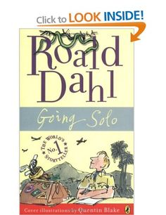 Going Solo: Roald Dahl: Books