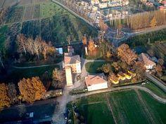 Villa Smeraldi, Museo della civiltà contadina San Marino di Bentivoglio (BO) - Veduta aerea.