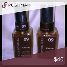 2 Anthropologie TokyoMilk Kabuki Perfume 2 bottles, 1 ounce each, one is full and one is almost full Anthropologie Other