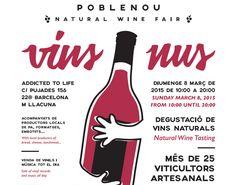 #VinsNus, Feria de #Vinos #Naturales en #Barcelona