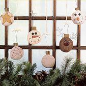Winter Ornaments Sewing Patterns ePattern