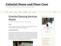 Granite Cleaning Services Miami