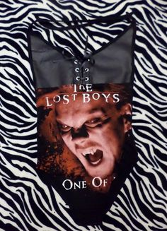 lace up front the lost boys body suit size by illuminaughtyclthing, $50.00