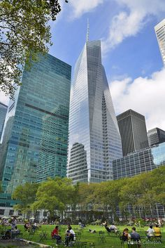NYC. Bryant Park looking NW // by Davidcarreton, via Flickr