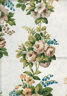 Sewing room fabric coupons on pinterest cotton fabric for Tissu shabby chic