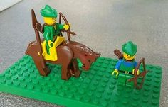 Lot of Lego Castle Legoland Forestmen Minifigs