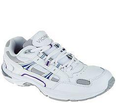 Vionic Women's Leather Walking Sneaker- Walker