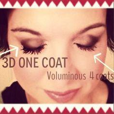 Another Younique 3D Fiber Lash Mascara comparison.  www.youniqueproducts.com/alonnahenderson