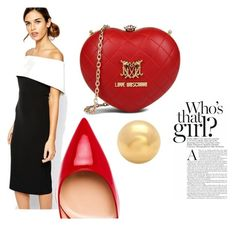 """Beyond my expectations"" by adynwoke on Polyvore featuring Bardot, Love Moschino and Gianvito Rossi"