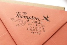 MarketHouse Custom Rubber Stamps - Rustica No. 1