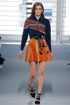 Louis Vuitton Fall 2014 (First time of Nicolas Ghesquièere) - Acho que esse look conversa comigo / I think this whole look kinda have a small talk with me!