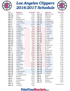 printable portland trail blazers basketball schedule 2016 2017