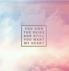 "Hillsong- Up In Arms. "" Your love has got me up in arms again!"""