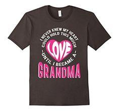 Amazon.com: Until I Became a Grandma love t-Shirt: Clothing