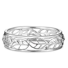 Sterling silver open work ring with leaf design around the whole ring. Regularly $39.99, shop Avon Jewelry online at http://eseagren.avonrepresentative.com