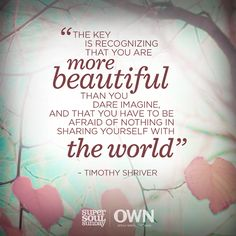 Oprah and Timothy Shriver teach us to live fully and with acceptance. Favorite Bible Verses, Favorite Quotes, Oprah Quotes, Satisfy My Soul, Great Quotes, Inspirational Quotes, Super Soul Sunday, A Course In Miracles, Morning Affirmations