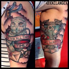 Harry Potter tattoo by KC Lange Instagram/ Twitter/ Tumblr/ Vine : @KC Lange