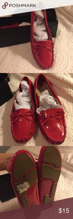 Ellen Tracy Women's Loafers and Moccasins Ellen Tracy Women's Loafers and Moccasins. Worn once. Red size 10 m Ellen Tracy Shoes Flats & Loafers