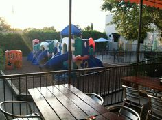 Restaurants with play areas