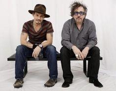 Johnny Depp & Tim Burton <3  Love of my life Johnny depp :) besides my husband :) lol