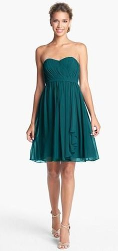 Beautiful bridesmaid dress style (comes in an array of colors)