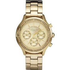 DKNY Chronograph with Crystals Champagne Dial Women's watch #NY8252