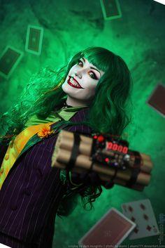 Female Joker from Batman - Daily Cosplay .com