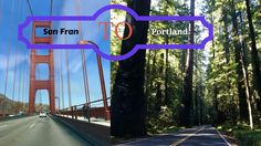 Pacific Ocean collides with Redwood Forest: San Francisco to Portland