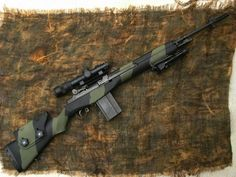 M14... One of the best weapon systems I've ever had the pleasure of using and working on.