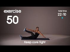 Fat Burning Cardio & Abs Workout - Level 3 - No Equipment - 40s/30s 60s/30s HIIT Workout - YouTube