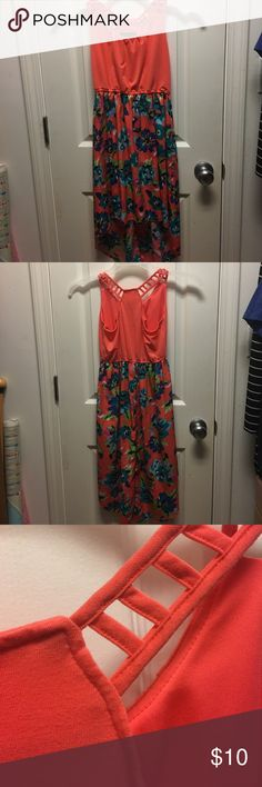 Floral dress High low children's floral dress. Only worn once. Like new Dresses Casual