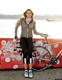 want all this bike gear | Café du Cycliste Yolande Women's Jersey, Rapha Women's 3/4 Bib, Vittoria 1976 Pista Cycling Shoes, Swrve Silk scarf, Café du Cycliste Madeline Women's Gilet
