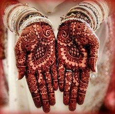 In India, most of the weddings are incomplete without the Mehendi ceremony. Mehendi or Henna as they call it, is the art of creating Mehendi, Mehndi Art, Henna Mehndi, Henna Art, Arabic Henna, Wedding Henna, Bridal Henna, Bengali Wedding, Bridal Mehndi Designs