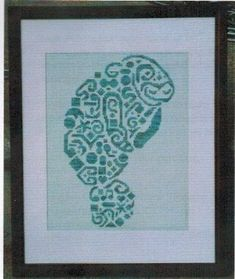 Tribal Manatee - Cross Stitch Pattern