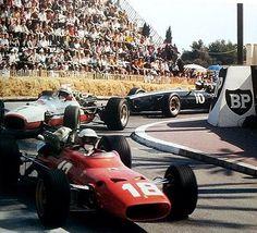 Lorenzo Bandini, Ferrari 312/67, Monaco Grand Prix 1967