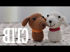 Amigurumi Lion Perritos : Crochet a bunny from a square shape easter rabbit toy plushie vid