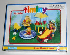 FOR SALE - The Garden Timiny Berchet 660005 Doll Furniture Le Jardin The 3 Little Ones Family 1993