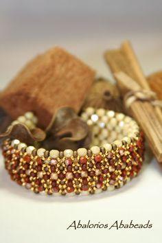 Abalorios Ababeads: Opulent Bracelet   Ya lo habran visto en varios bl...