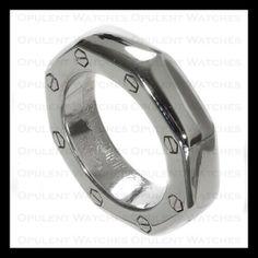 Audemars Piguet Royal Oak Offshore 18k White Gold Ring