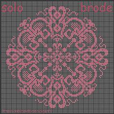 doily free cross stitch chart