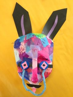 Recycled materials make for exciting art possibilities! Fifth graders used plastic milk jugs to create masks inspired by those o. Plastic Bottle Art, Plastic Milk, Diy Crafts For Kids, Art For Kids, Recycled Costumes, Safari Theme Party, Recycled Art, Recycled Materials, Handprint Art