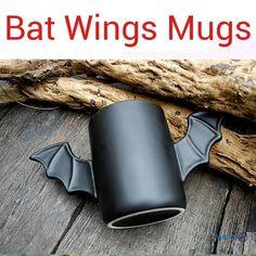 Bat Wings Ceramic Mug