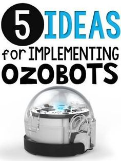 An Ozobot is a tiny robot that reads color code. If implementing coding in your classroom makes you a bit uneasy, don't worry! Ozobots are a perfect way to introduce your students to coding in a simple way. Ozobots have a sensor beneath them that reads color codes, or the different combination