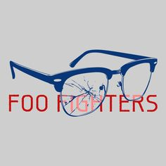 Foo Fighters Women's Glasses T-Shirt