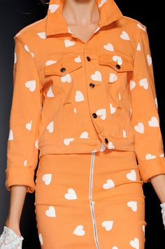 Hearts on Orange #Fashion
